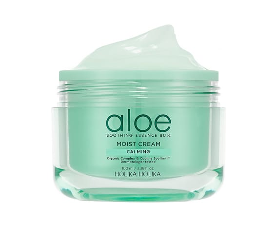 Крем для лица Aloe Soothing Essence 80% Moist Cream