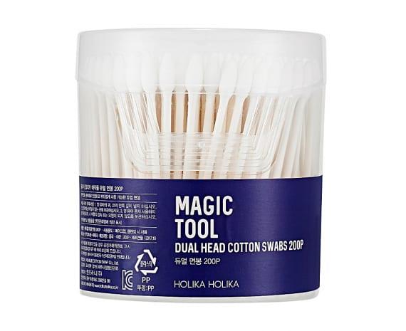 Ватные палочки Magic Tool Dual Head Cotton Swabs 200 шт