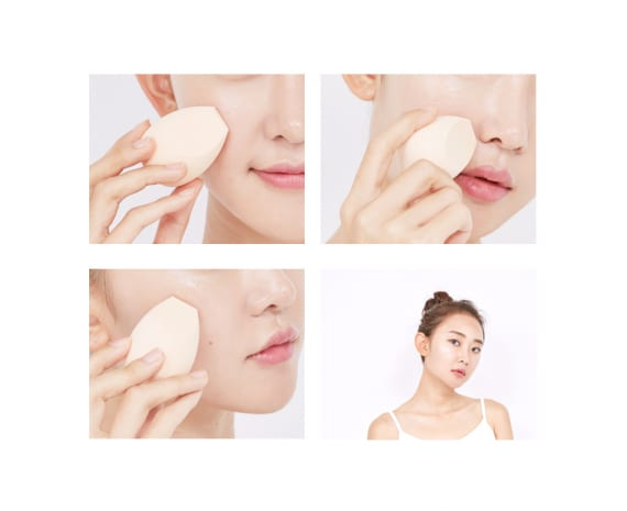 Спонж для макияжа Hard Cover Face Sculpting Makeup Sponge