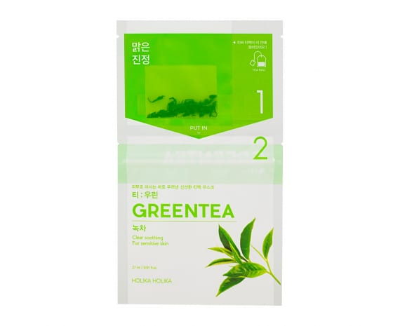 Чайные маски для лица Instantly Brewing Tea Bag Mask - Green Tea