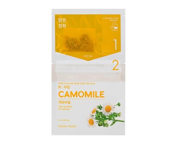 Чайные маски для лица Instantly Brewing Tea Bag Mask - Camomile