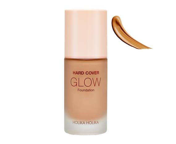 Тональная основа Hard Cover Glow Foundation 06 Jella