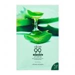Маска тканевая Aloe 99% Soothing Gel Jelly Mask Sheet