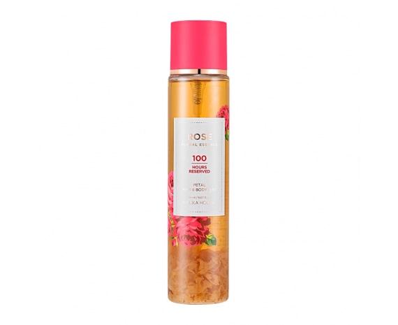Мист для волос и кожи тела Rose Floral Essence Petal Hair & Body Mist