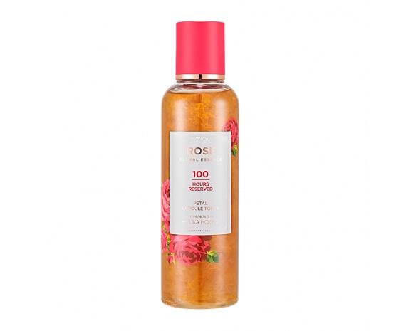 Тонер для лица Rose Floral Essence Ampoule Toner