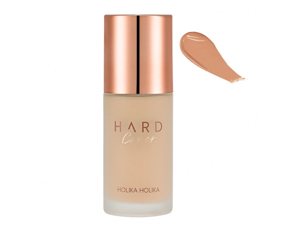 Тональная основа Hard Cover Perfecting Foundation 06 Almond