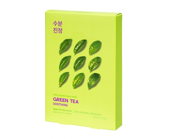 Комплект тканевых масок Pure Essence Mask Sheet - Green Tea (5 шт)