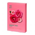 Комплект тканевых масок Pure Essence Mask Sheet - Damask Rose (5 шт)