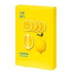 Комплект тканевых масок Pure Essence Mask Sheet - Lemon (5 шт)