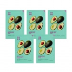 Комплект тканевых масок Pure Essence Mask Sheet - Avocado (5 шт)