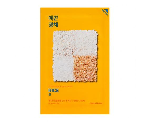 Тканевая маска Pure Essence Mask Sheet - Rice