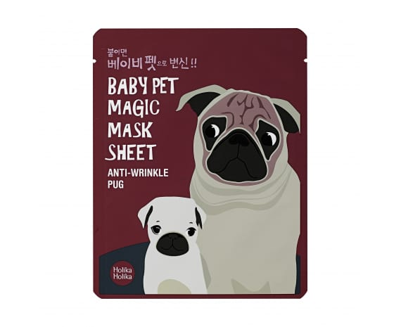 Тканевая маска Baby Pet Magic Mask Sheet (Pug)
