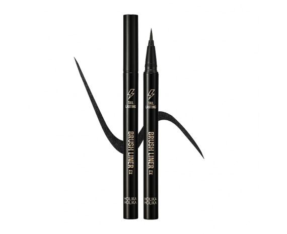 Стойкая подводка-кисть Tail Lasting Brush Liner 01 Real Black