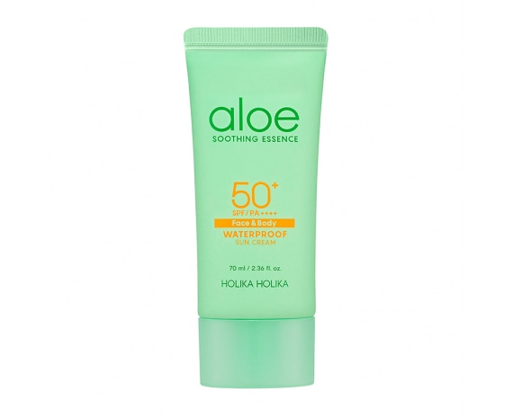 Солнцезащитный гель Aloe Soothing Essence Waterproof Sun Gel SPF50+