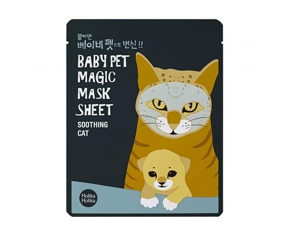Тканевая маска Baby Pet Magic Mask Sheet (Cat)